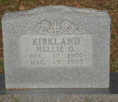 KIRKLAND, NELLIE O. - Baxter County, Arkansas | NELLIE O. KIRKLAND - Arkansas Gravestone Photos