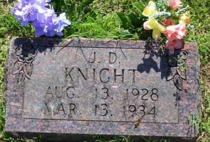KNIGHT, J. D. (OBIT) - Baxter County, Arkansas | J. D. (OBIT) KNIGHT - Arkansas Gravestone Photos