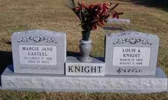 KNIGHT, LOUIS A - Baxter County, Arkansas | LOUIS A KNIGHT - Arkansas Gravestone Photos