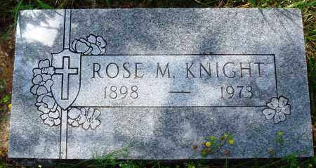 KNIGHT, ROSSE M - Baxter County, Arkansas | ROSSE M KNIGHT - Arkansas Gravestone Photos