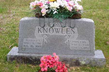 KNOWLES, JOHN EARL - Baxter County, Arkansas | JOHN EARL KNOWLES - Arkansas Gravestone Photos