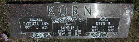 KORN, BONNIE J. - Baxter County, Arkansas | BONNIE J. KORN - Arkansas Gravestone Photos