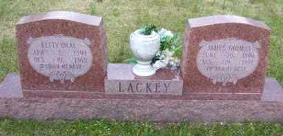 LANGSTON LACKEY, BETTY ORAL - Baxter County, Arkansas | BETTY ORAL LANGSTON LACKEY - Arkansas Gravestone Photos