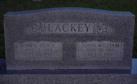 LACKEY, JOHN WILLIAM - Baxter County, Arkansas | JOHN WILLIAM LACKEY - Arkansas Gravestone Photos