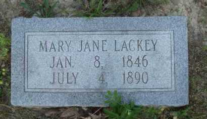 LACKEY, MARY JANE - Baxter County, Arkansas | MARY JANE LACKEY - Arkansas Gravestone Photos