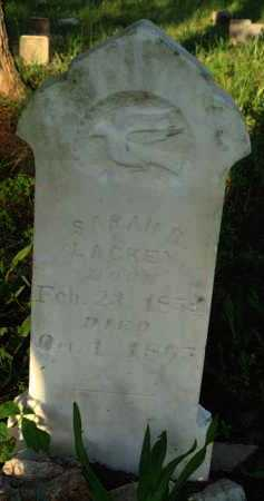 LACKEY, SARAH R. - Baxter County, Arkansas | SARAH R. LACKEY - Arkansas Gravestone Photos
