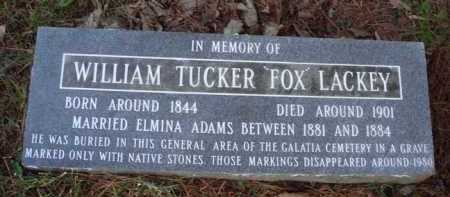 "LACKEY, WILLIAM TUCKER ""FOX"" - Baxter County, Arkansas 