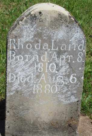 LAIRD, RHODA - Baxter County, Arkansas | RHODA LAIRD - Arkansas Gravestone Photos