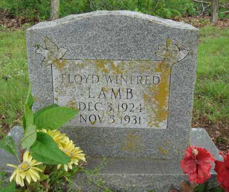 LAMB, FLOYD WINFRED - Baxter County, Arkansas | FLOYD WINFRED LAMB - Arkansas Gravestone Photos