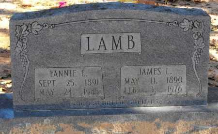 LAMB, FANNIE E. - Baxter County, Arkansas | FANNIE E. LAMB - Arkansas Gravestone Photos
