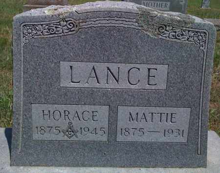 LANCE, HORACE - Baxter County, Arkansas | HORACE LANCE - Arkansas Gravestone Photos