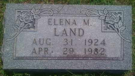 LAND, ELENA M. - Baxter County, Arkansas | ELENA M. LAND - Arkansas Gravestone Photos