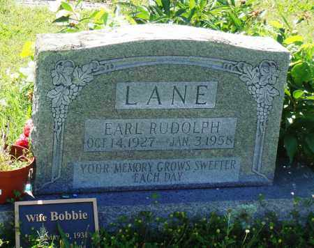 LANE, EARL RUDOLPH - Baxter County, Arkansas | EARL RUDOLPH LANE - Arkansas Gravestone Photos
