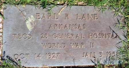LANE (VETERAN WWII), EARL R - Baxter County, Arkansas | EARL R LANE (VETERAN WWII) - Arkansas Gravestone Photos