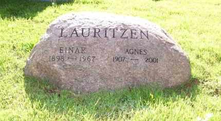 LAURITZEN, AGNES - Baxter County, Arkansas | AGNES LAURITZEN - Arkansas Gravestone Photos