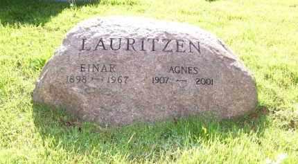 LAURITZEN, EINAR - Baxter County, Arkansas | EINAR LAURITZEN - Arkansas Gravestone Photos