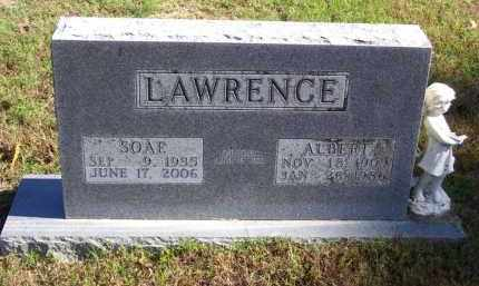 LAWRENCE (VETERAN), ALBERT - Baxter County, Arkansas | ALBERT LAWRENCE (VETERAN) - Arkansas Gravestone Photos