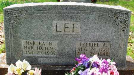 LEE, MARTHA N - Baxter County, Arkansas | MARTHA N LEE - Arkansas Gravestone Photos