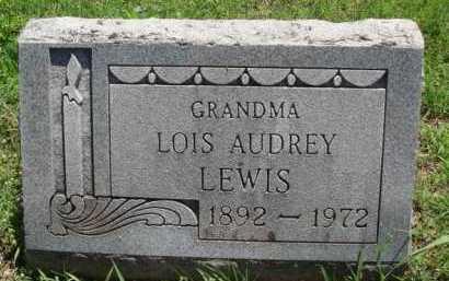 LEWIS, LOIS AUDREY - Baxter County, Arkansas | LOIS AUDREY LEWIS - Arkansas Gravestone Photos