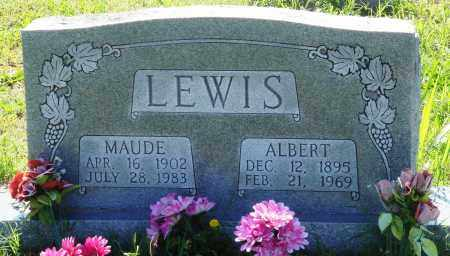 LEWIS, ALBERT - Baxter County, Arkansas | ALBERT LEWIS - Arkansas Gravestone Photos