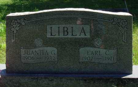 LIBLA, EARL C. - Baxter County, Arkansas | EARL C. LIBLA - Arkansas Gravestone Photos