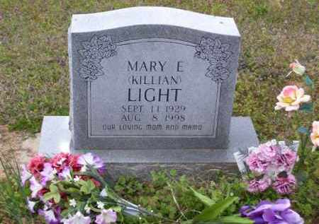 LIGHT, MARY E. - Baxter County, Arkansas | MARY E. LIGHT - Arkansas Gravestone Photos