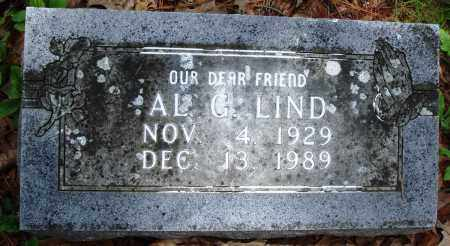 LIND, AL G - Baxter County, Arkansas | AL G LIND - Arkansas Gravestone Photos