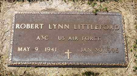 LITTLEFORD (VETERAN), ROBERT LYNN - Baxter County, Arkansas | ROBERT LYNN LITTLEFORD (VETERAN) - Arkansas Gravestone Photos