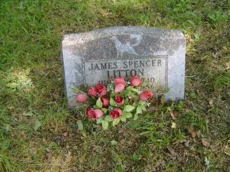 LITTON, JAMES SPENCER - Baxter County, Arkansas | JAMES SPENCER LITTON - Arkansas Gravestone Photos