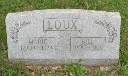 LOUX, BILL - Baxter County, Arkansas | BILL LOUX - Arkansas Gravestone Photos