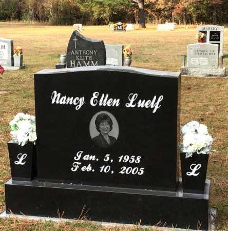 LUELF, NANCY ELLEN - Baxter County, Arkansas | NANCY ELLEN LUELF - Arkansas Gravestone Photos