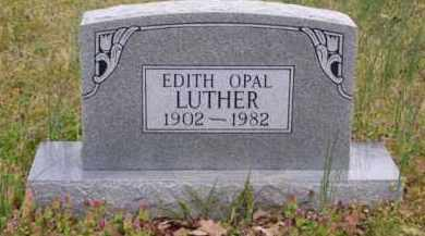 LUTHER, EDITH OPAL - Baxter County, Arkansas | EDITH OPAL LUTHER - Arkansas Gravestone Photos