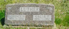 LUTHER, FLORENCE - Baxter County, Arkansas | FLORENCE LUTHER - Arkansas Gravestone Photos
