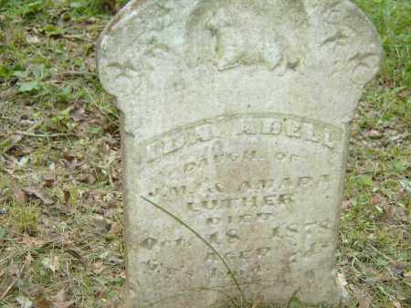 LUTHER, IDA ADELL - Baxter County, Arkansas | IDA ADELL LUTHER - Arkansas Gravestone Photos