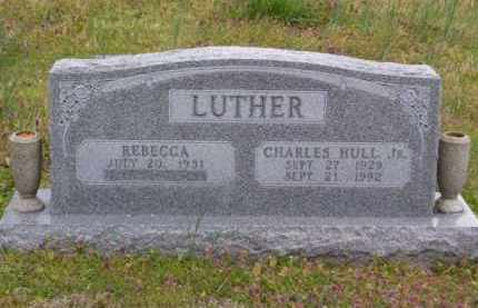 LUTHER, JR. (VETERAN KOR), CHARLES HULL - Baxter County, Arkansas | CHARLES HULL LUTHER, JR. (VETERAN KOR) - Arkansas Gravestone Photos