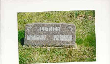 LUTHER, OSCAR FARMER - Baxter County, Arkansas | OSCAR FARMER LUTHER - Arkansas Gravestone Photos