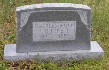 LUTHER, SR (VETERAN WWI), CHARLES HULL - Baxter County, Arkansas | CHARLES HULL LUTHER, SR (VETERAN WWI) - Arkansas Gravestone Photos