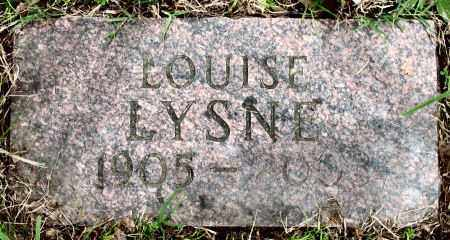 LYSNE, LOUISE - Baxter County, Arkansas | LOUISE LYSNE - Arkansas Gravestone Photos