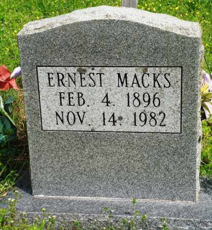 MACKS, ERNEST - Baxter County, Arkansas | ERNEST MACKS - Arkansas Gravestone Photos
