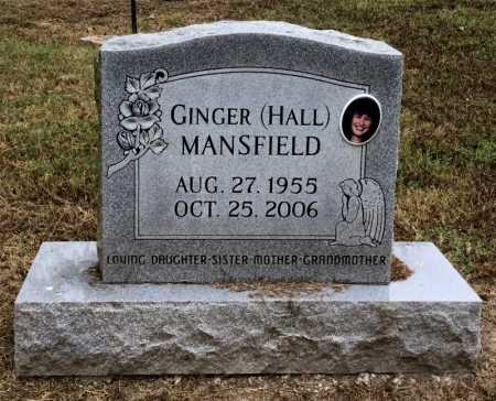 MANSFIELD, GINGER - Baxter County, Arkansas | GINGER MANSFIELD - Arkansas Gravestone Photos
