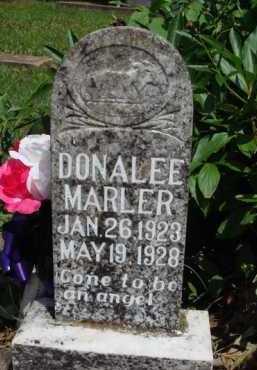 MARLER, DONALEE - Baxter County, Arkansas | DONALEE MARLER - Arkansas Gravestone Photos