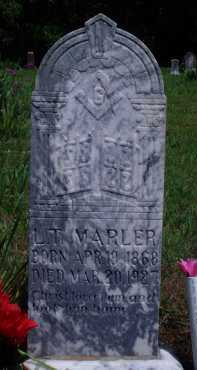 MARLER, L. T. - Baxter County, Arkansas | L. T. MARLER - Arkansas Gravestone Photos