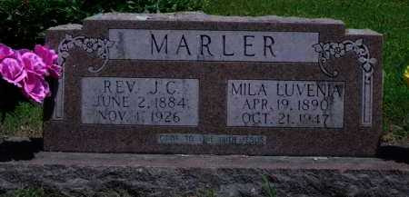 MARLER, REV.  J. C. - Baxter County, Arkansas | REV.  J. C. MARLER - Arkansas Gravestone Photos