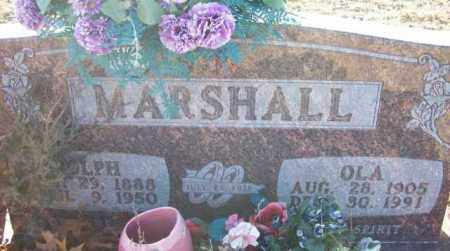 MARSHALL, OLA - Baxter County, Arkansas | OLA MARSHALL - Arkansas Gravestone Photos