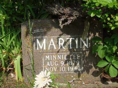 MARTIN, MINNIE LEE - Baxter County, Arkansas | MINNIE LEE MARTIN - Arkansas Gravestone Photos