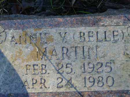 MARTIN, ANNIE V. (BELLE) - Baxter County, Arkansas | ANNIE V. (BELLE) MARTIN - Arkansas Gravestone Photos