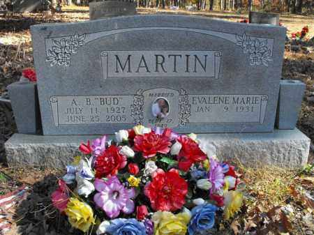 "MARTIN, A. B. ""BUD"" - Baxter County, Arkansas   A. B. ""BUD"" MARTIN - Arkansas Gravestone Photos"