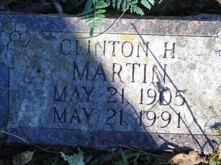 MARTIN, CLINTON H. - Baxter County, Arkansas | CLINTON H. MARTIN - Arkansas Gravestone Photos