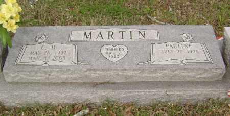 MARTIN (2), C. D. - Baxter County, Arkansas | C. D. MARTIN (2) - Arkansas Gravestone Photos