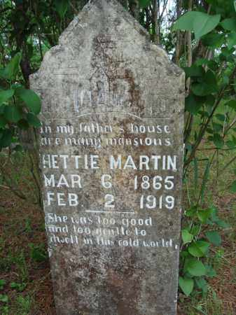 MARTIN, HETTIE - Baxter County, Arkansas | HETTIE MARTIN - Arkansas Gravestone Photos